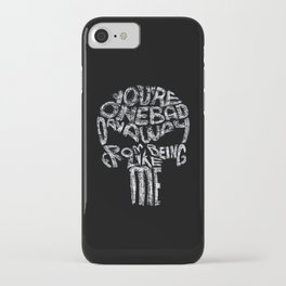 The Punisher - One Bad Day Away iPhone Case