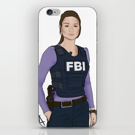 Special Agent Argent iPhone Skin