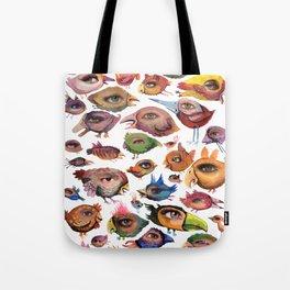 Bird's Eye Tote Bag