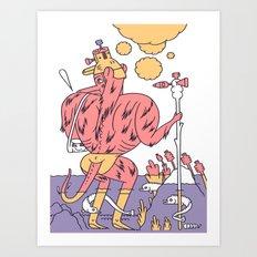 Waz Munster  Art Print