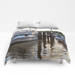 Chesapeake Docks Comforters