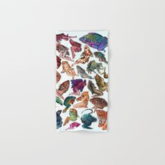 Reverse Mermaids Hand & Bath Towel