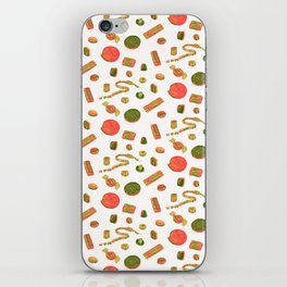 Old Fashioned Boiled Sweets: Alternate Colour by Chrissy Curtin iPhone Skin
