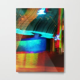 The colour of sound Metal Print