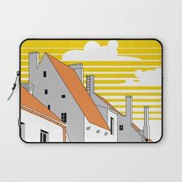 Medieval houses Laptop Sleeve