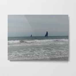 Great day for sailing! Metal Print