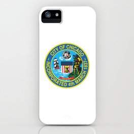 Seal of Chicago, Illinois iPhone Case