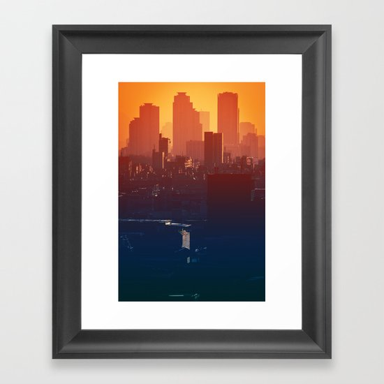 Eastern Seoul Framed Art Print