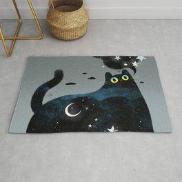 Night Cat Rug