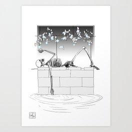 Soft Macabre Art Print