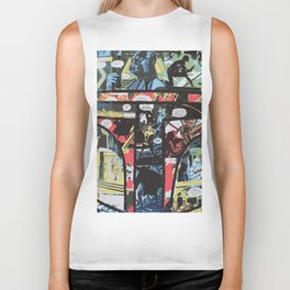 Boba Fett Collage Biker Tank
