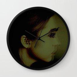 Looking Away Wall Clock