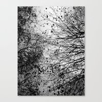 leaves Canvas Prints featuring Branches & Leaves by David Bastidas