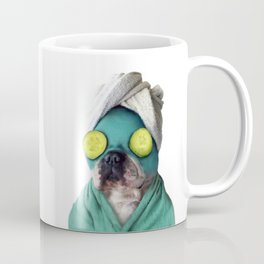 Dog SPA Art Print Coffee Mug
