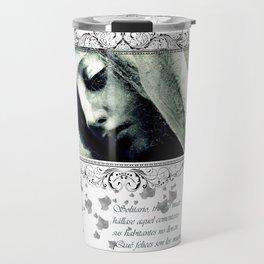 virgin veil of cobwebs Travel Mug