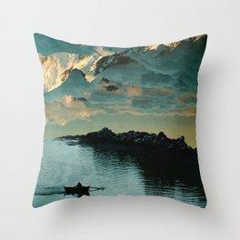 A Meditation Throw Pillow