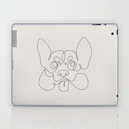 One Line Corgi Laptop & iPad Skin