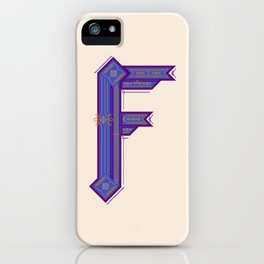 F is a fantasy iPhone Case