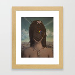 simulacra Framed Art Print