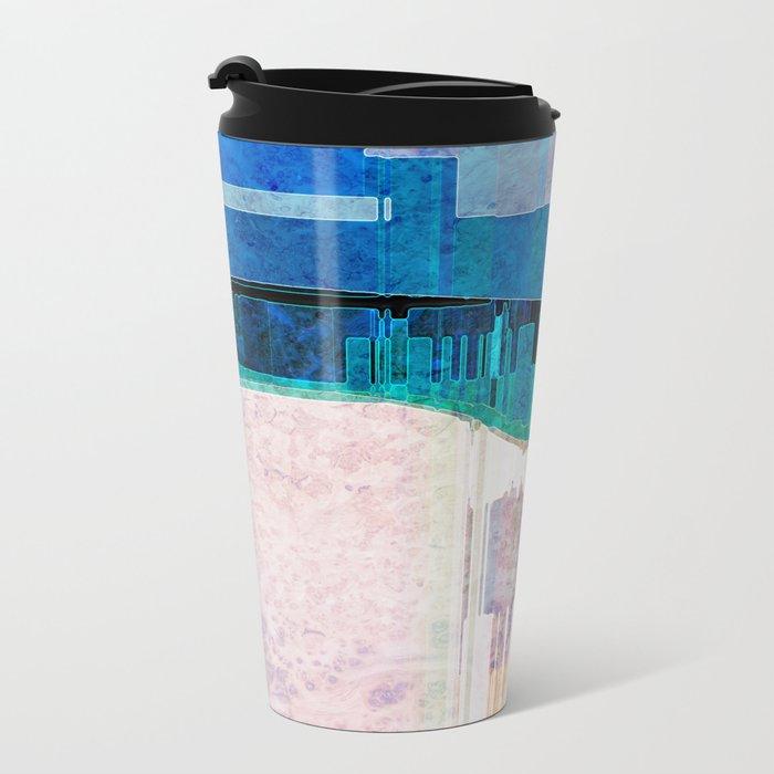 CITYSCAPE Metal Travel Mug