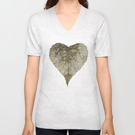 heart nature Unisex V-Neck