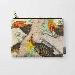 Monograph of the picides - Alf. Malherbe Scientific Bird Illustration Carry-All Pouch