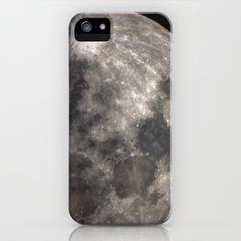 Full Harvest moon iPhone Case