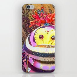 Psychedelic Monster iPhone Skin