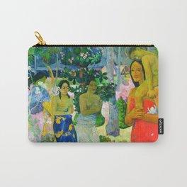Hail Mary (Ia Orana Maria) (1891) by Paul Gauguin Carry-All Pouch