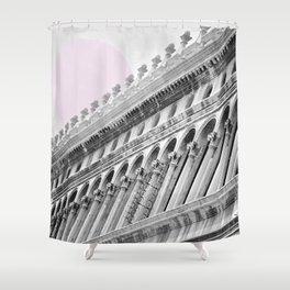 Venetian facade Shower Curtain