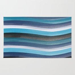 Blue lines Rug