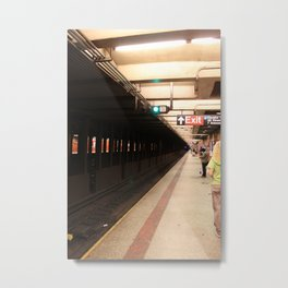 SUBWAY SYSTEM Metal Print