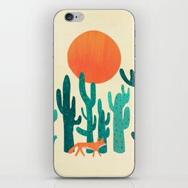 Desert fox iPhone Skin
