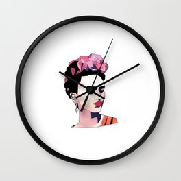 Poly Frida Wall Clock