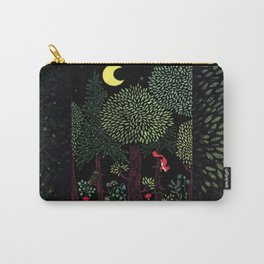 Into The Woods At Night Carry-All Pouch