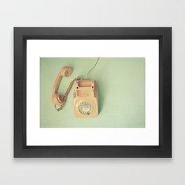 Off the Hook Framed Art Print