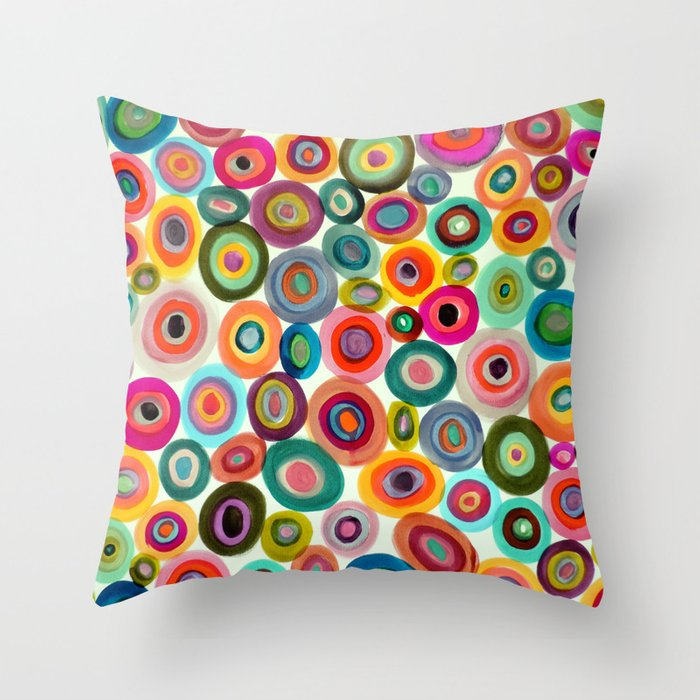 Inside out throw pillow by sylviedemes society6 for Insider design pillow