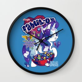 FABULOS - Opalescence Approved! Wall Clock