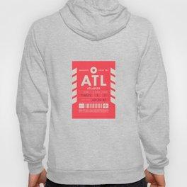 Baggage Tag D - ATL Atlanta USA Hoody