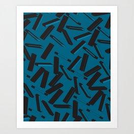 3D Pattern  X 0.2 Art Print