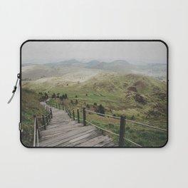 A long walk Laptop Sleeve