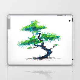 Blue Bonsai Laptop & iPad Skin