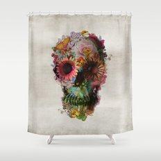 SKULL 2 Shower Curtain