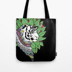 Indian Tiger Tote Bag
