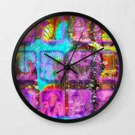 Another Flat Earth Charlie Fox Fiesta Wall Clock