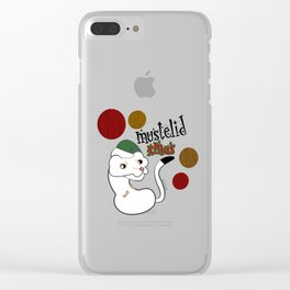 Mustelid Xmas #1 Clear iPhone Case
