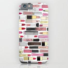 Lipstick War iPhone Case