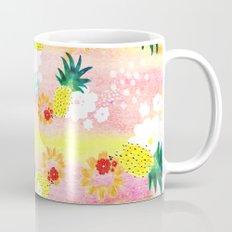 Floral Pineapple Punch Mug