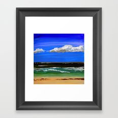 Pacific ocean Framed Art Print