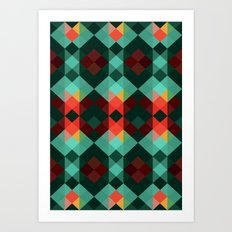 Patagonia, Forest Art Print